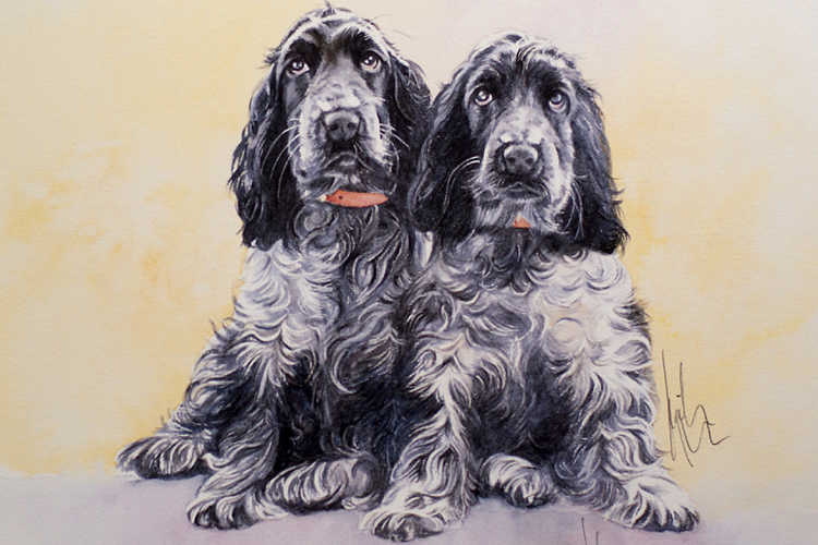 Sporting & Gundogs Dog Art Category