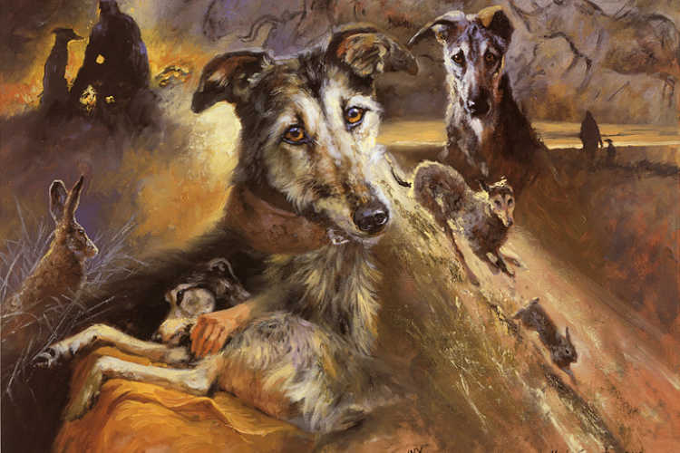 Hounds Dog Art Category